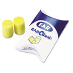 E·A·R E·A·R Classic Earplugs, Pillow Paks, Uncorded, PVC Foam, Yellow, 200 Pairs