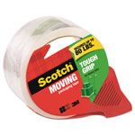 "Scotch Tough Grip Moving Packaging Tape, 1.88"" x 54.6 yds, With Dispenser"