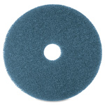 "Niagara® Floor Cleaning Pads, 16"", 5/BX, Blue"