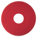 "Niagara® Floor Buffing Pad, 12"", 5/BX, Red"