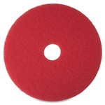 "Niagara® Floor Buffing Pad, 20"", 5/BX, Red"