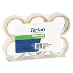 "Tartan™ General Purpose Packing Tape, 2"" x 55yds, 3"" Core, Clear, 6/Pack"