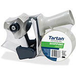 "Tartan™ Box-Sealing Tape Dispenser, 2"" Wide Tape, Clear"