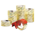 "3M Commercial Performance Packaging Tape, 1.88"" x 54.6 yards, Clear, 12 Pack"