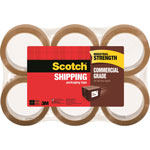 "Scotch Packaging Tape, Refill, 1.88"" x 54.6Yds, 6/PK, Tan"