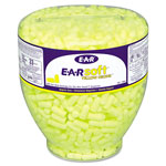 E·A·R E A Rsoft Neon Tapered Earplug Refill, Cordless, Yellow, 500/box