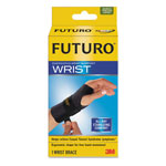 "Futuro Energizing Wrist Support, S/M, Fits Left Wrists 5 1/2""- 6 3/4"", Black, 12/Carton"