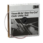 "3M Cloth Utlity Rolls, 1"" x 50 yd."