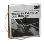 "3M Cloth Utility Roll, 1"" x 50 yd."