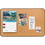 3M Sticky Cork Self Stick Bulletin Boards, 36 x 22