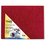 3M Cut to Fit Self Stick Bulletin Board, 23 x 18, Burgundy