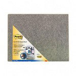 3M Cut to Fit Self Stick Bulletin Board, 23 x 18, Charcoal