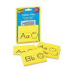 Post-it® Alphabet Notes