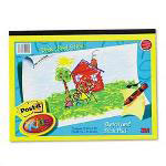 3M Kids Sketch & Stick Landscape Self Stick Paper Easel Pad, 12 x 9, 25 Sheets/Pad