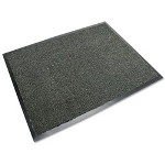 3M Carpet Matting 5000, Dual Fiber/Vinyl, 47 x 72, Black/Gray