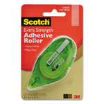"Scotch Extra Strength Adhesive Roller, 3/8"" x 396"""