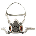 3M 6000 Series Half Facepiece Respirator, Small
