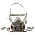 3M 6000 Series Half Facepiece Respirator, Medium
