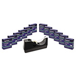 "Highland Invisible Tape, 3/4"" x 1000"", 1"" Core, 12/Pack"