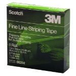 "Scotch Fine Line Striping Tape, 8 Pull Outs, 1"" x 550 """