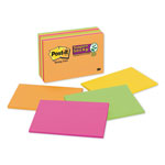 Post-it® Super Sticky™ Meeting Notes, 6 x 4, 45 Sheets per Pad, 8 Pads per Pack