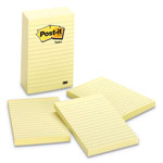 "Post-it® Super Sticky™ Post it Notes, 100 Sheets/Pad, 4""x6"", 5/Pack, YW"