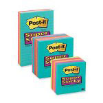 "Post-it® Super Sticky Lined Notes, 4""x4"""