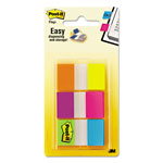 3M Flags in Portable Dispenser, Alternating Electric Glow Colors, 60 Flags per Pack