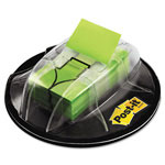 3M High Volume Flag Dispensers, Bright Green Arrow, 200, 1 x 1 3/4