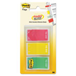 "Post-it® Arrow Message 1"" Prioritization Page Flags, ""TO DO"", Red/Yellow/Green, 60/Pack"