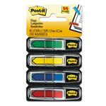 Post-it® Arrow Flags, Assorted Standard Colors, 1/2x1-3/4, 96 Flags