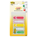 "Post-it® Arrow 1/2"" Prioritization Page Flags, Red/Yellow/Green, 100/Pack"