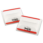 3M Durable Index Tabs, Red