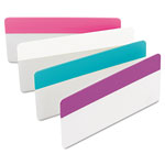"Post-it® Durable File Tabs, 3""x1 1/2"", Assorted Colors"