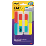 "Post-it® Tabs Value Pack, 1"" and 2"", Assorted, 114/PK"