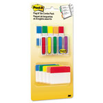 Post-it® Flags and Tabs Combo Pack, Assorted Primary Colors, 230/Pack