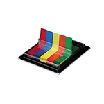 Post-it® Flags in Dispenser, Five Colors, 75/Color, 375 Flags/Pack