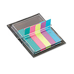 Post-it® Flags in Dispenser, Five Bright Colors, 75/Color, 375 Flags/Pack