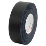 3M Gaffers Cloth Tape, 12mil, 25.4mm x 48mm, SR/BK