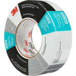 "3M Polyethylene Coated Cloth Duct Tape, 10.5 mils., 48mm x 54.8m, 3"" Core, Silver"