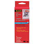 "Scotch Precut Removable Mounting Tabs, Double-Sided, 1/2"" x 3/4"", 144/Pack"