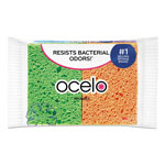 "O-Cel-O™ Sponwith StayFresh Technology, 4.7"" x 3"" x .6"", 4/Pack"