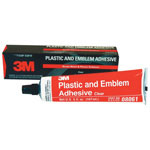 3M Plastic And Emblem Adhesive, 5 Oz.