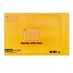 3M Shipping Envelope, Plastic, 12 1/2 x 18, Kraft, 25/box