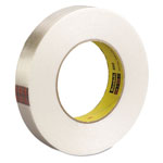 "Scotch High-Strength Filament Tape, .70"" x 60yds, 3"" Core, Clear"