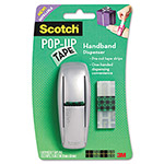 "Scotch Pop-up Tape Handband Dispenser, 1 Tape Pad, 75 Tape Strips, 3/4"" x 2"" Tape Strip"