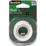 "Scotch Magic™ Tape Refill for Contour Dispenser, Matte Finish, 3/4"" x 500"" Roll"