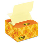 Post-it® Pop-up Notes in a Desk Grip Decorative Box, 3 x 3, AST