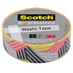 "Scotch Expressions Washi Tape, .59"" x 393"", Wrapped"