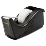 "3M 1"" Core Value Desk Tape Dispenser, Black"